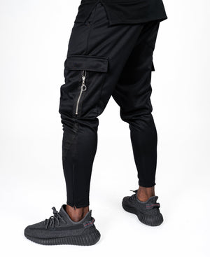 Black trousers with black lines - Fatai Style