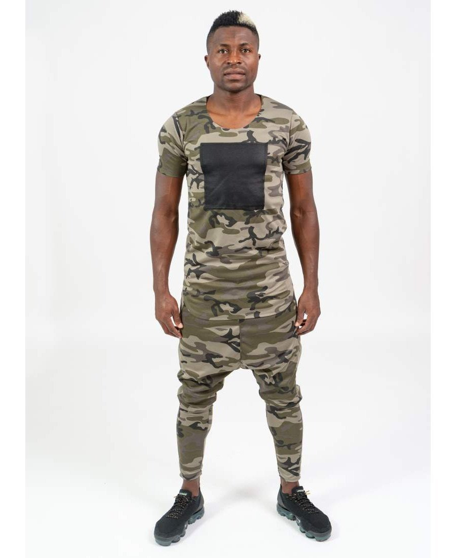 (SET) Tracksuit ''Special Camo'' (t-shirt+trousers) - Fatai Style