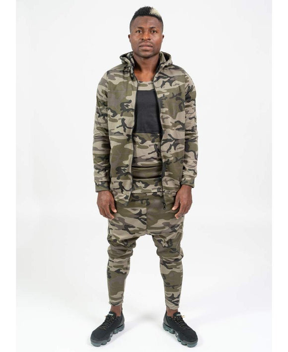 Camo Tracksuit with t-shirt included - Fatai Style
