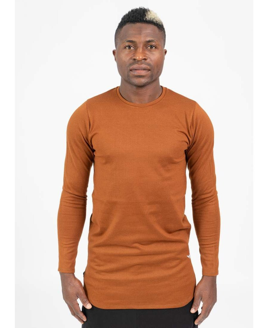 Simple Brown Shirt - Fatai Style