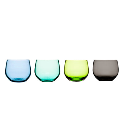 Sagaform - Spectra tumbler, 4-pack, Blue/Green - Vama Kitchens Ltd