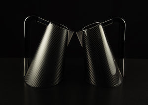 Bugatti - Carbon Fibre Vera Kettle,  Matte & Gloss Finishes