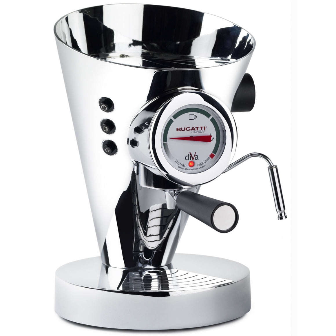 Bugatti - Diva Espresso Machine, Chrome
