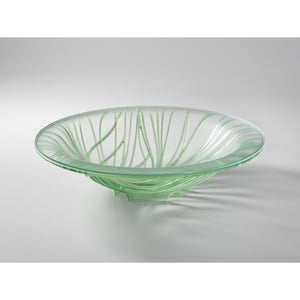 Bugatti - Flora Fruit Bowl With Glass Coupe, Apple Green
