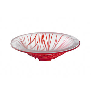 Bugatti - Flora Fruit Bowl With Glass Coupe, Red