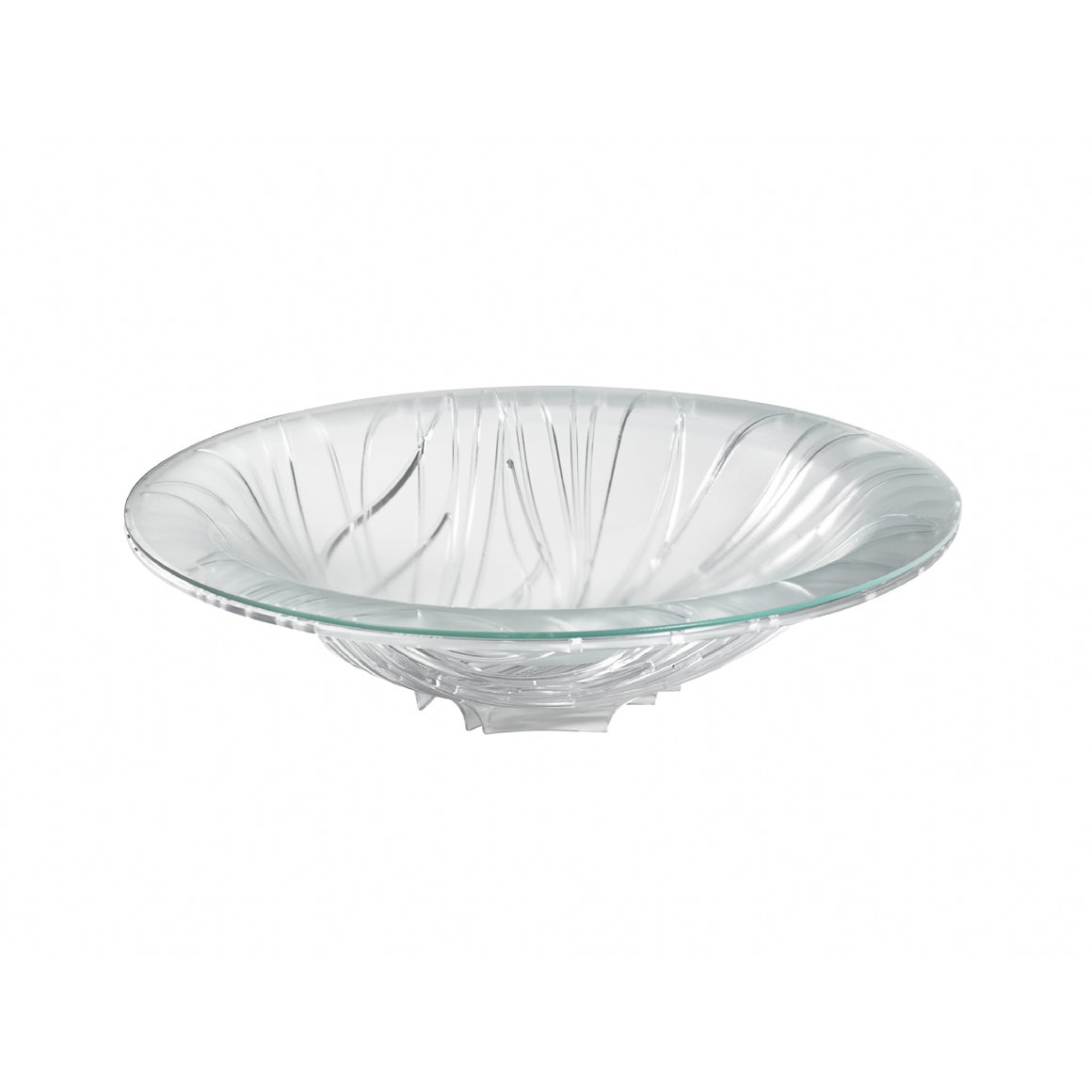 Bugatti - Flora Fruit Bowl With Glass Coupe, Transparent