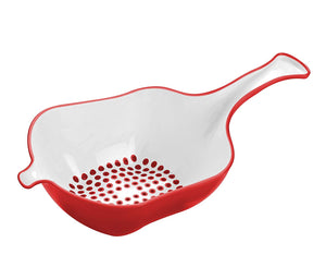 Bugatti - Glamour Easy Collander, Red Handle