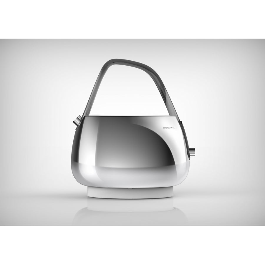 Bugatti - Jacqueline Kettle With Smoky Handle, Chrome
