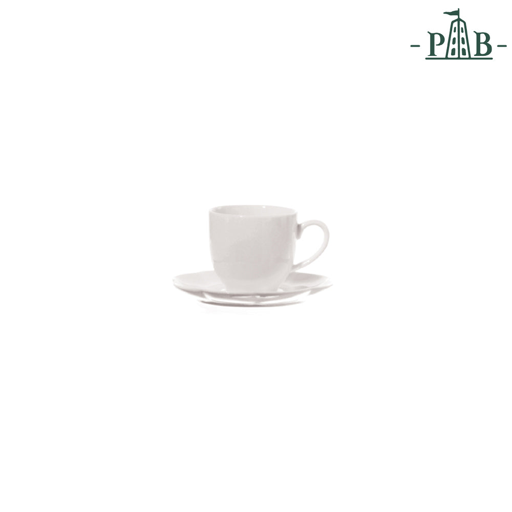 La Porcellana Bianca - Villadeifiori Coffee Cup W/S CC 90 White - Vama Kitchens Ltd