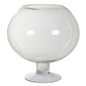 VK - Large Open Glass Globe Jar