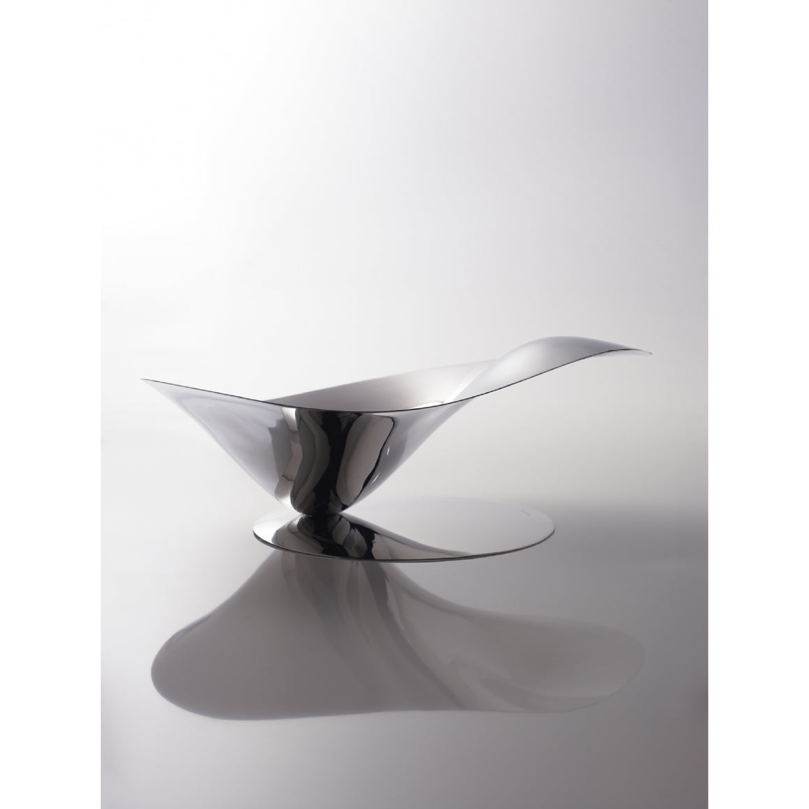 Bugatti - Petalo Fruit Bowl, Chrome