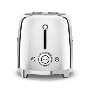 SMEG - 50's 2 Slice Toaster, Chrome