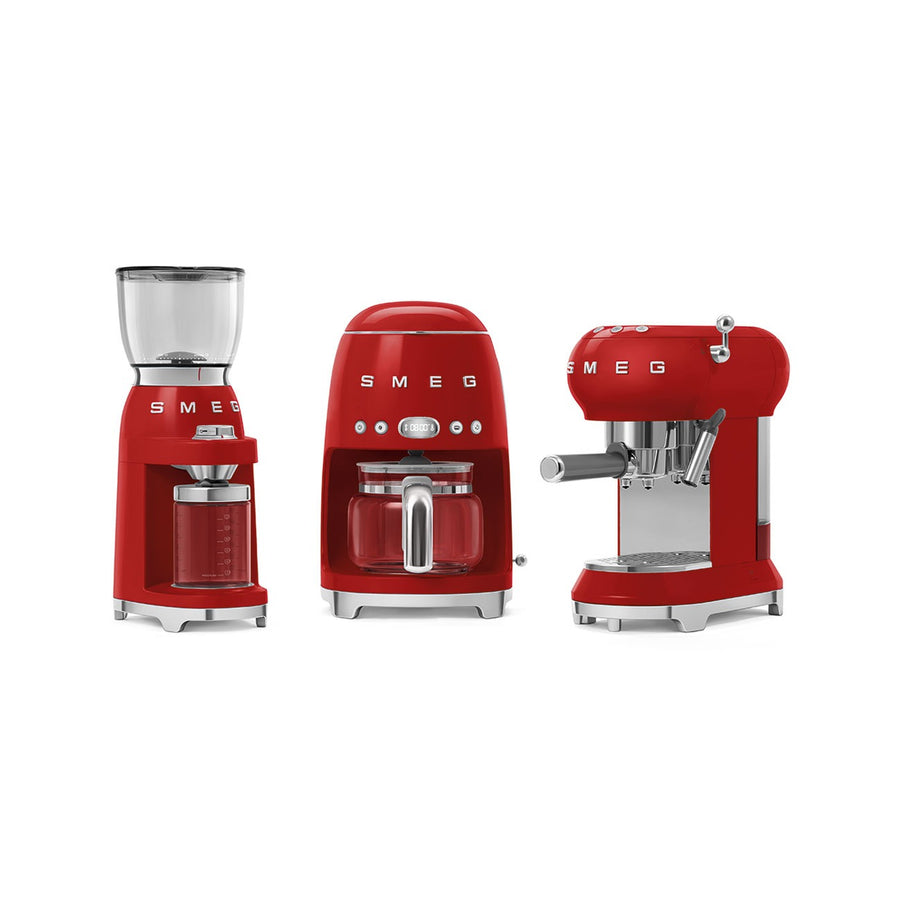 SMEG - 50's Coffee Grinder, Red