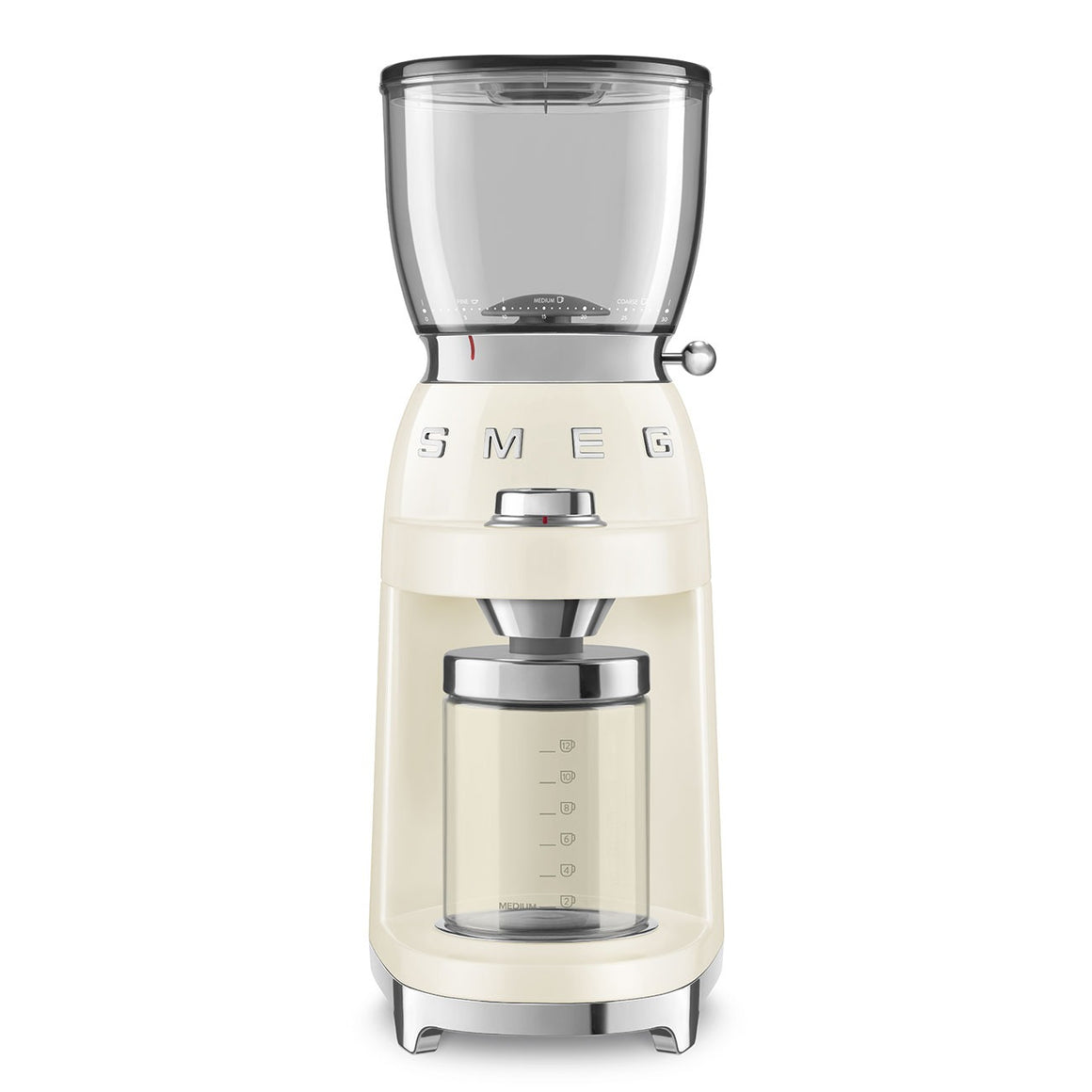 SMEG - 50's Coffee Grinder, Cream