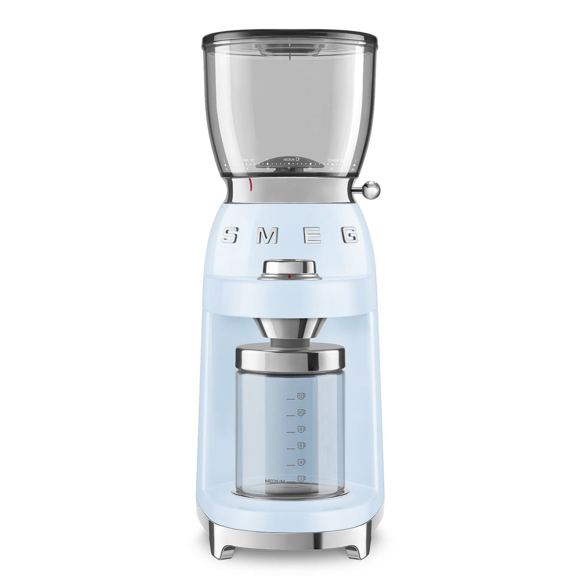 SMEG - 50's Coffee Grinder, Pastel Blue