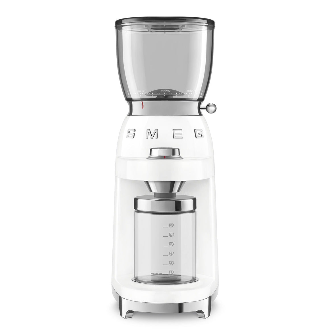 SMEG - 50's Coffee Grinder, White