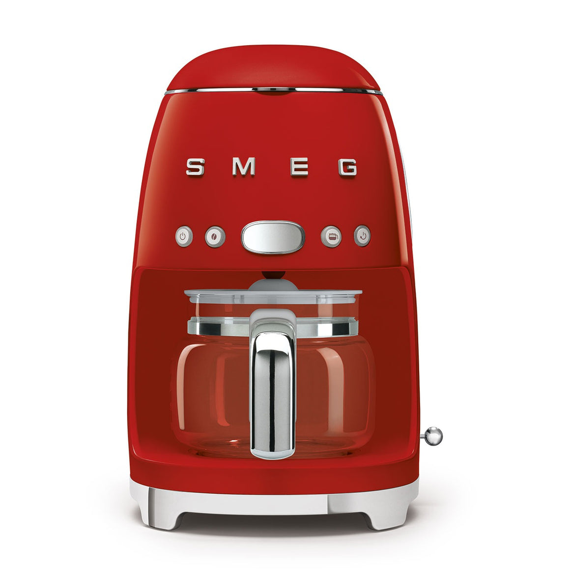 SMEG - 50's Drip Filter Coffee Machine, Red