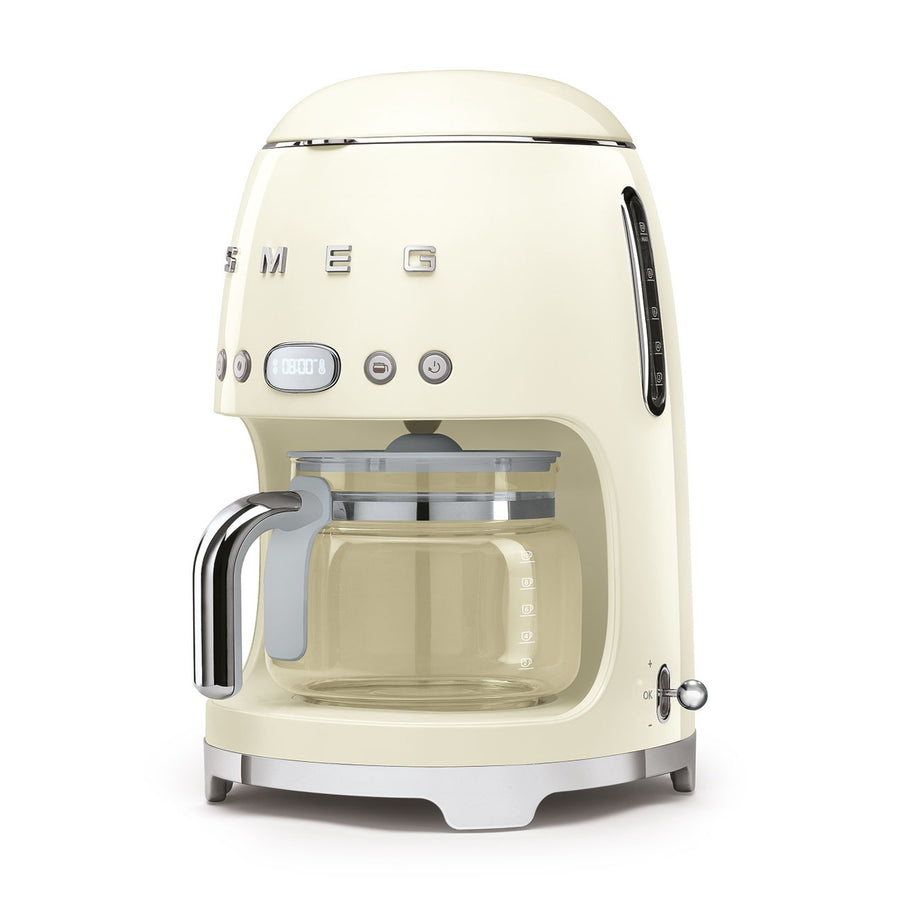 SMEG - 50's Drip Filter Coffee Machine, Cream