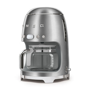 SMEG - 50's Drip Filter Coffee Machine, Stainless Steel
