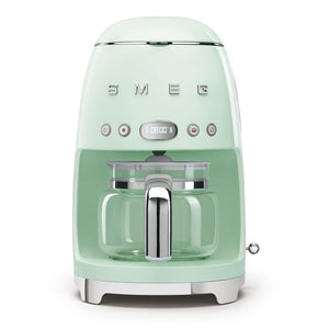 SMEG - 50's Drip Filter Coffee Machine, Pastel Green