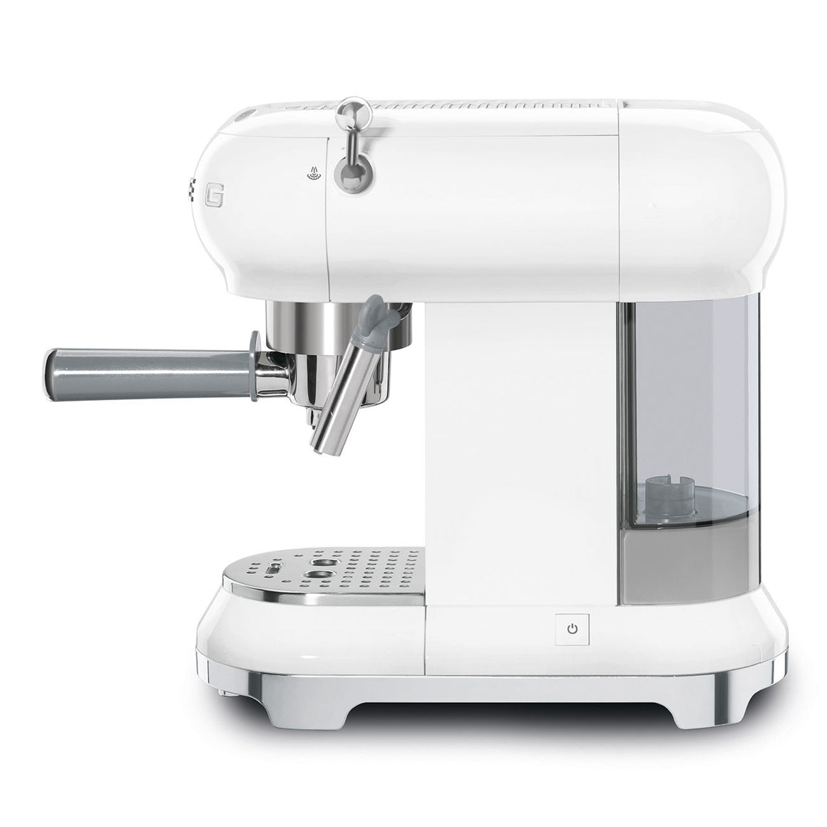 SMEG - 50's Espresso Coffee Machine, White