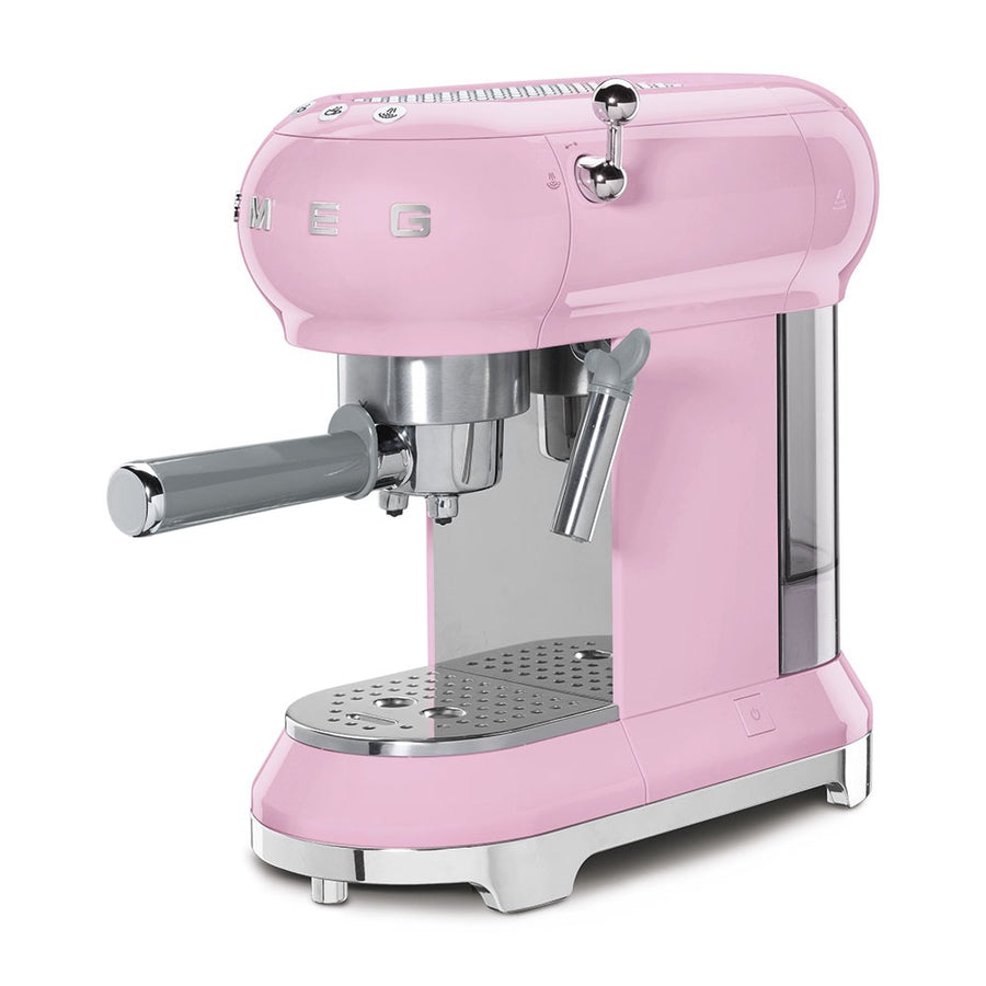 SMEG - 50's Espresso Coffee Machine, Pink