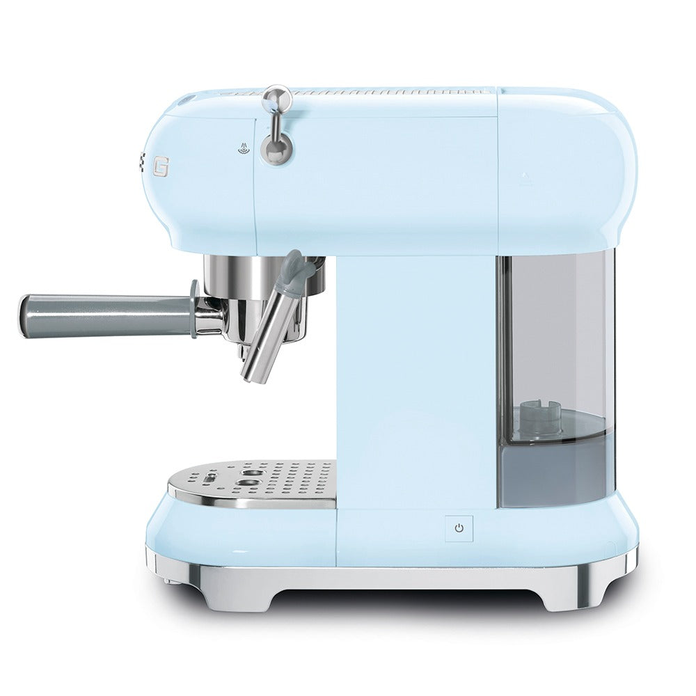 SMEG - 50's Espresso Coffee Machine, Pastel Blue