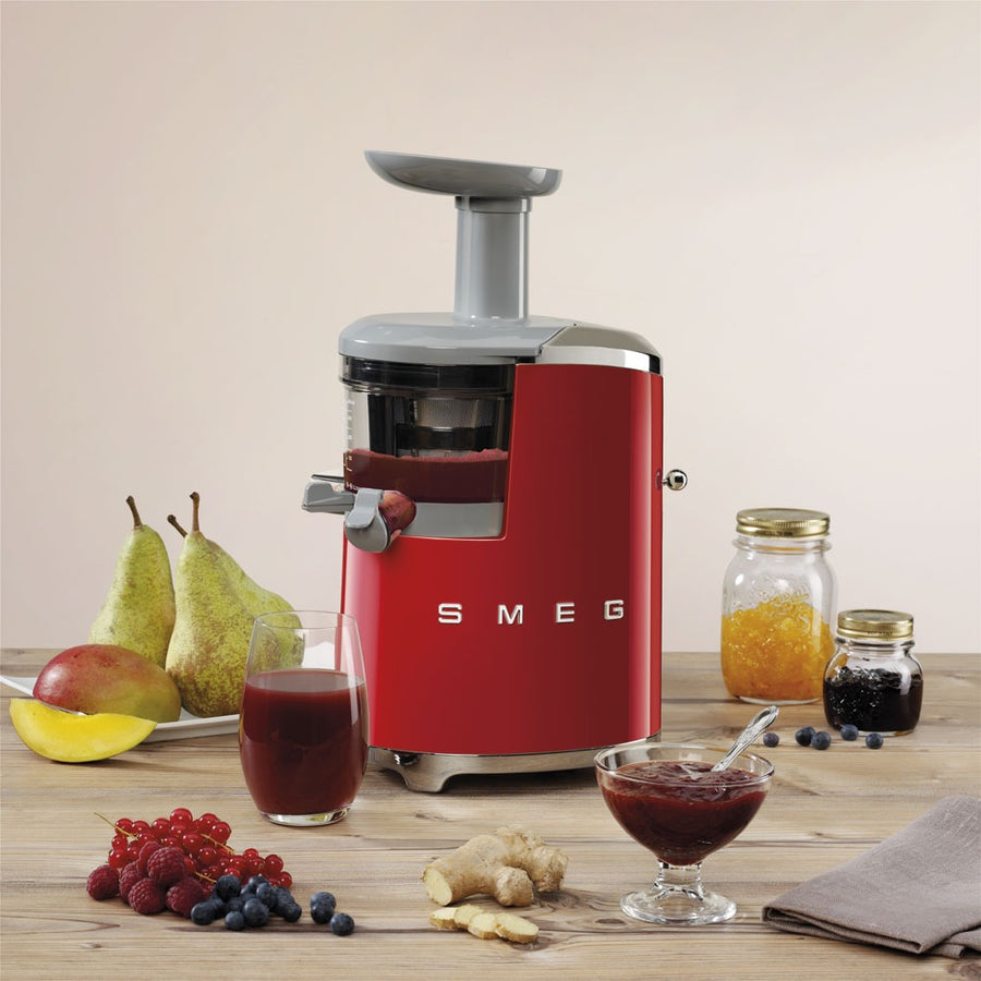 SMEG - 50's Slow Juicer, Red
