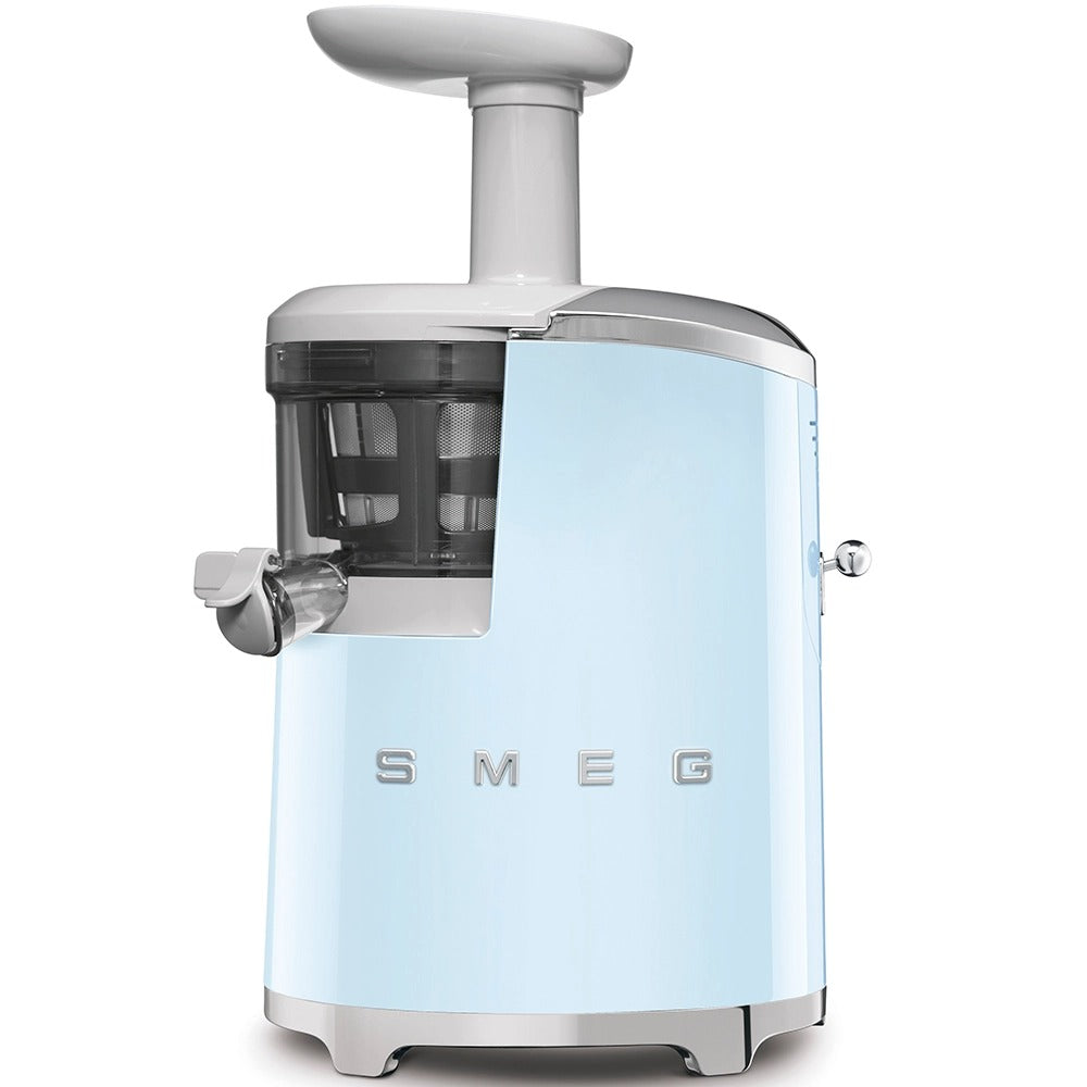 SMEG - 50's Slow Juicer, Pastel Blue