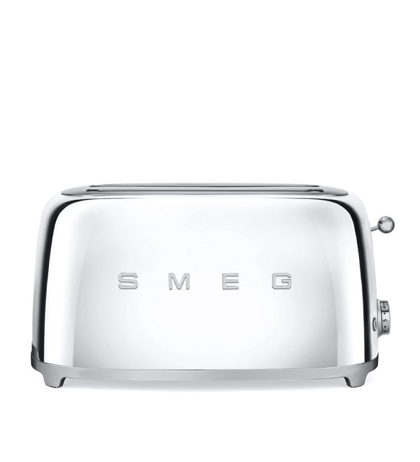 Smeg - 50's Retro 4 Slice Toaster, Chrome