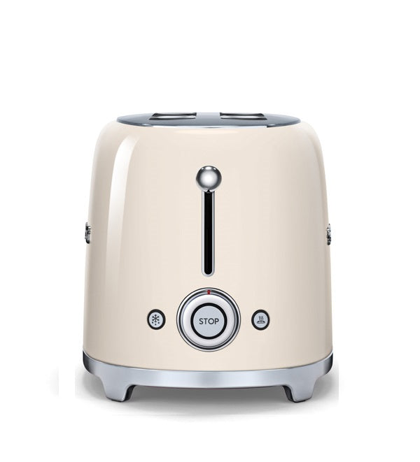 Smeg - 50's Retro 4 Slice Toaster, Cream
