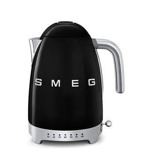 Smeg - 50's Retro Variable Temperature Kettle, Black