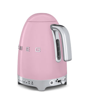 Smeg - 50's Retro Variable Temperature Kettle, Pink