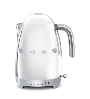 Smeg - 50's Retro Variable Temperature Kettle, Silver