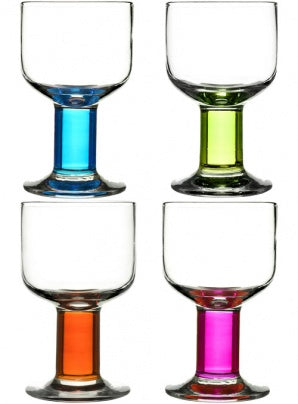 Sagaform - Club all-purpose glasses, 4-pack - Vama Kitchens Ltd