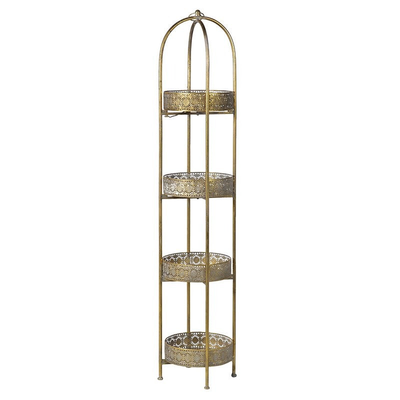 VK - Tall 4 Tier Round Tray Stand