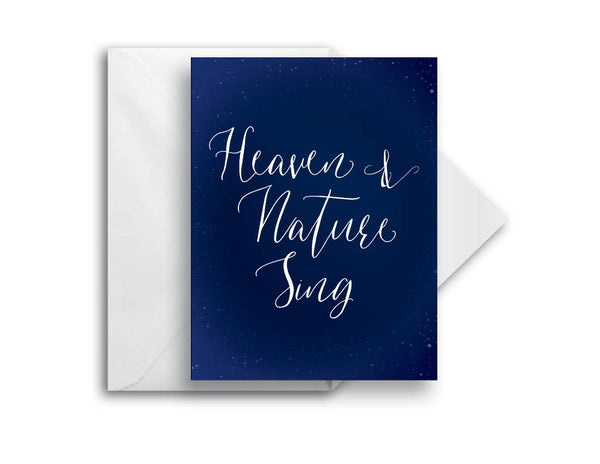 Heaven & Nature, Greeting Card