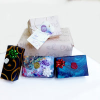 Soft Pastel Holiday Gift Wrap