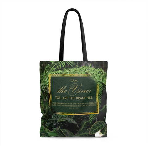 I Am The Vine, Tote Bag