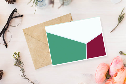 Palette Note Cards, Set of 4