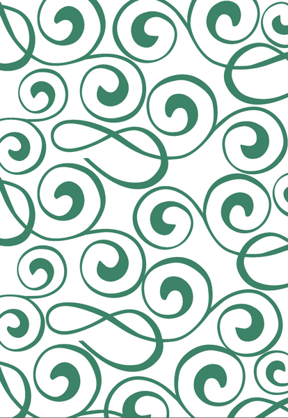 Celtic Green Gift Wrap