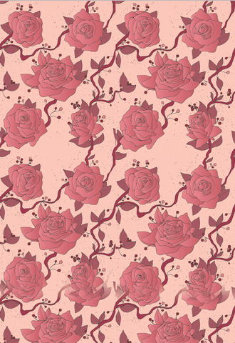 Roses, Sweet Roses Gift Wrap