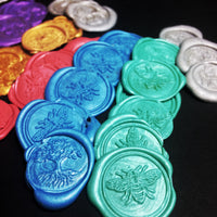 Wax seals stickers, includes 20