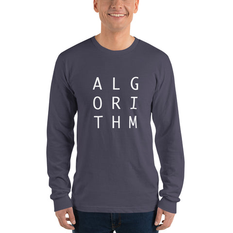 Alogorithm - Design Life - Long Sleeve T-Shirt