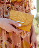 <i>the</i> MARGAUX WALLET <i>marigold croco</i>