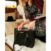 <i>the</i> GO-GETTER TOTE <i>black & leopard</i>