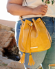<i>the</i> DESERT BUCKET BAG <i>marigold croco</i>