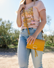 the BOHO WALLET marigold