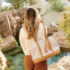 <i>the</i> SEDONA SATCHEL <i>neutral stripe</i>