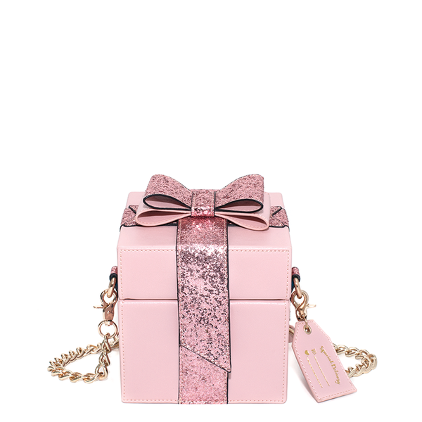 the ALL WRAPPED UP CROSSBODY pink